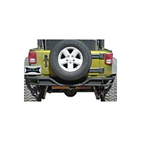 OR-Fab Rock Slider Rear Bumper, Bicycle Black (07-13 Wrangler JK) - OR-Fab 83205BB