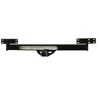 Smittybilt Receiver Hitch Class II, Bolt On, Fits OE Bumpers (87-06 Wrangler YJ & TJ) - Smittybilt JH44