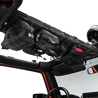 Smittybilt GEAR Overhead Console - Black (07-15 Wrangler JK) - Smittybilt 5666001