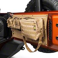 Smittybilt GEAR Tailgate Cover - Coyote Tan (07-15 Wrangler JK) - Smittybilt 5662324