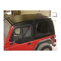 Smittybilt 1-Piece Hardtop w/ Upper Doors, Textured Black (97-06 Wrangler TJ) - Smittybilt 519801