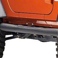 Smittybilt Sure Steps - 3 In. Side Bar - Textured Black (07-14 Wrangler JK 2 Door) - Smittybilt JN48-S2T||JN48-S2T