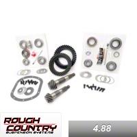 Rough Country 30F/35R 4.88 KIT (87-05  Wrangler YJ) - Rough Country YJ 30/35 4.88
