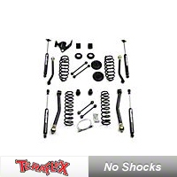 TeraFlex 3 in. Lift Kit w/Front Lower & Extra Short Rear Upper FlexArms, No Shocks (07-13 Wrangler JK 4 Door) - Teraflex 1156200