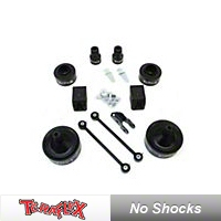 TeraFlex 2.5 in. Upgrade Lift Kit Springs to Replace Spacers (07-13 Wrangler JK 4 Door) - Teraflex 1351100