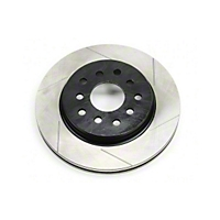 TeraFlex Big Brake RAW Front Single Rotor SLOTTED 13.3 In. Diameter (07-13 Wrangler JK) - Teraflex 4303492