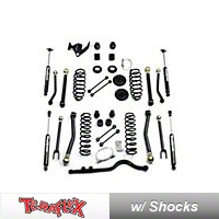TeraFlex 3 in. Lift Kit w/All 8 ShortArms, Elkas, Front Trackbar (07-13 Wrangler JK 4 Door) - Teraflex 7156300