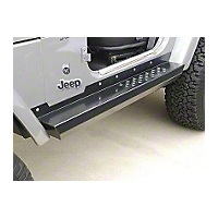 Hyline Offroad Side Step Rocker Panel Assembly (97-06 Wrangler TJ) - Hyline Offroad TJ-30SSR