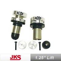 JKS Front Adjustable Coil Over Spacer System (97-06 Wrangler TJ) - JKS 2200