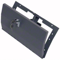 Tuffy Security Glovebox, Light Gray (97-06 Wrangler TJ) - Tuffy 049-02