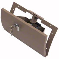 Tuffy Security Glovebox, Light Tan (97-06 Wrangler TJ) - Tuffy 049-05