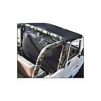 VDP Sport Bar Pad, Full, Easy Zip Front Support, Camouflage (97-02 Wrangler TJ) - VDP 50769731