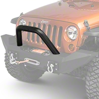 MBRP Front Light Bar/Grill Guard System, Black Coated (07-11 Wrangler JK) - MBRP 130716