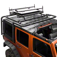 MBRP Freedom Roof Panel Mount Kit, Black Coated (07-10 Wrangler JK) - MBRP 130837