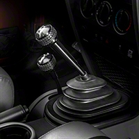 Drake Off Road 6 Speed Shift Knob, Black Finish (05-10 Wrangler TJ & JK) - Drake Off Road JP-180012-BK