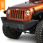 Off Camber Fabrications by MBRP Front Full Width Non Winch Bumper (07-16 Wrangler JK) - Off Camber Fabrications by MBRP 131092