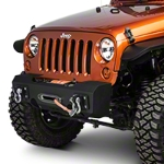 MBRP Front Stubby Winch Bumper (07-15 Wrangler JK) - MBRP 131093