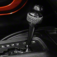 Drake Off Road A/T Shift Knob, Black Finish (11-13 Wrangler JK) - Drake Off Road JP-181113-BK