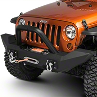 Jeep Jk Front Bumpers Stubby Bumpers Free Shipping