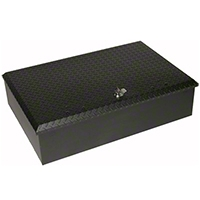 Tuffy Aluminum Roof Rack Lockbox - Tuffy 146-01