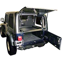 Tuffy Security Deck Enclosure (87-06 Wrangler YJ & TJ) - Tuffy 240-01
