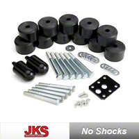 JKS 1.25 in. Body Lift Kit (97-06 Wrangler TJ) - JKS 9904