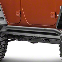 MBRP Rock Rail Kit, Black Coated (07-13 Wrangler JK 4 Door) - MBRP 130714