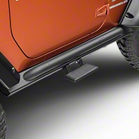 MBRP Rock Rail Step, Black Coated (07-13 Wrangler JK) - MBRP 130715
