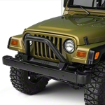 MBRP Black Front Bumper Grill Guard/Light Bar (97-06 Wrangler TJ) - MBRP 131086