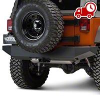 MBRP Rear Full Width Bumper (07-16 Wrangler JK) - MBRP 131095