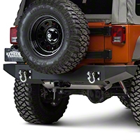 MBRP Rear Full Width Bumper Package (07-15 Wrangler JK) - MBRP 131177