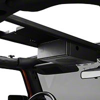 Tuffy Single Compartment Overhead Console (07-13 Wrangler JK) - Tuffy 142-01