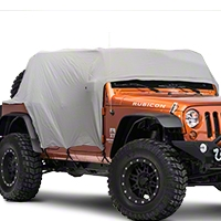 VDP Full Monty Cab Cover w/ Half Door Ears (07-13 Wrangler JK 4 Door) - VDP 501163
