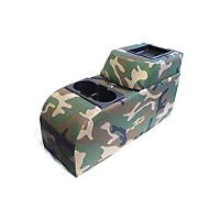 VDP Padded Catch All Center Console, Camouflage (87-95 Wrangler YJ) - VDP 42031
