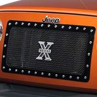 T-REX X-Metal Series, Studded Main Grille, Black (07-15 Wrangler JK) - T-REX 6714831