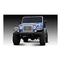 T-REX X-Metal Series - Studded Main Grille, Polished Stainless Steel (97-06 Wrangler TJ) - T-REX 6714900