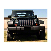 T-REX Upper Class Polished Stainless Mesh Grille, 7 Pc (07-13 Wrangler JK) - T-REX 54481