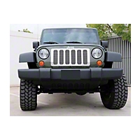 T-REX Upper Class Polished Stainless Mesh Grille, 6 Pc (07-13 Wrangler JK) - T-REX 54482