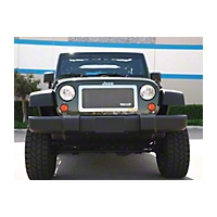T-REX Upper Class Polished Stainless Mesh Grille, 1 Pc (07-13 Wrangler JK) - T-REX 54483