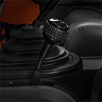 Drake Off Road 4WD Shifter Knob, Black Finish (07-13 Wrangler JK) - Drake Off Road JP-180011-BK