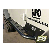 Pure Jeep 2-Door Formed Rocker Guards (07-13 Wrangler JK) - Pure Jeep PJ3000