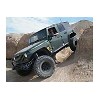 Pure Jeep 4-Door Formed Rocker Guards (07-13 Wrangler JK) - Pure Jeep PJ3002