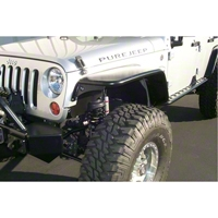 Pure Jeep Front Tube Fenders  (07-13 Wrangler JK) - Pure Jeep PJ4020