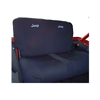 Coverking Rear Neoprene Seat Cover Without Jeep Logo (92-95 Wrangler YJ) - Coverking SPC153L