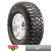 Mickey Thompson Baja MTZ Radial Tire w/OWL, LT285/70R17 (87-14 Wrangler YJ, TJ & JK) - Mickey Thompson 90000001476