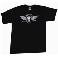 Special Ops Black T-Shirt - Old Toledo Brands JEEPT2S
