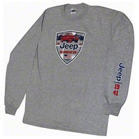 Jeep Icon Long Sleeve T-Shirt - Old Toledo Brands JEEPT4S