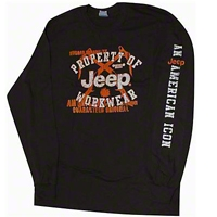 Jeep Workwear Dark T-Shirt - Old Toledo Brands JEEPT6S