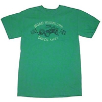 Road Warriors Kelly Green T-Shirt - Old Toledo Brands JPS1058S