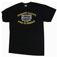 Toughest 4 Letter Word T-Shirt - Old Toledo Brands JPS1061S